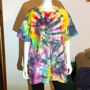 Adult Large Tie Dye T-shirt